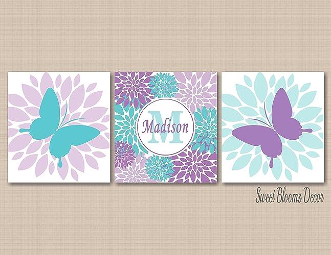 Amazon.com: Butterfly Nursery Wall Art Butterfly Wall Art Butterfly ...