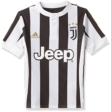 5dbfc2835 Amazon.com   adidas Juventus Kids Home Shirt 2017 18-13-14 Years ...