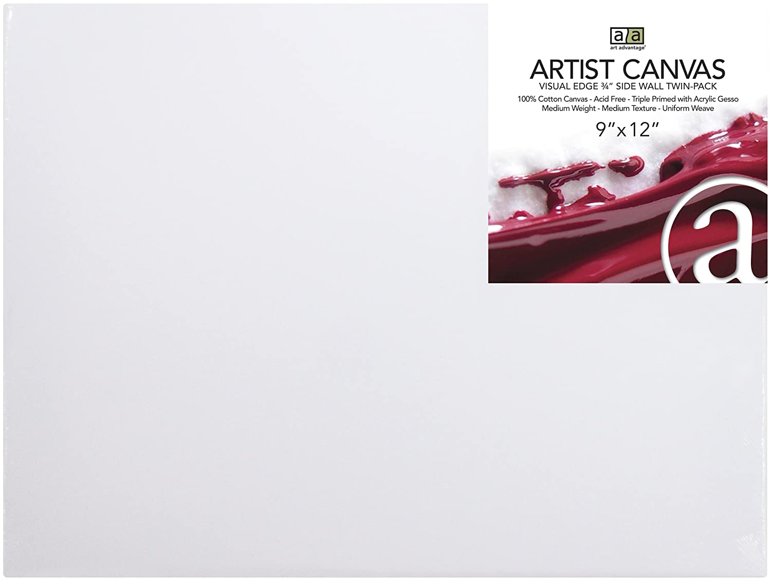 Art Advantage 22-Inch by 28-Inch Artist Canvas