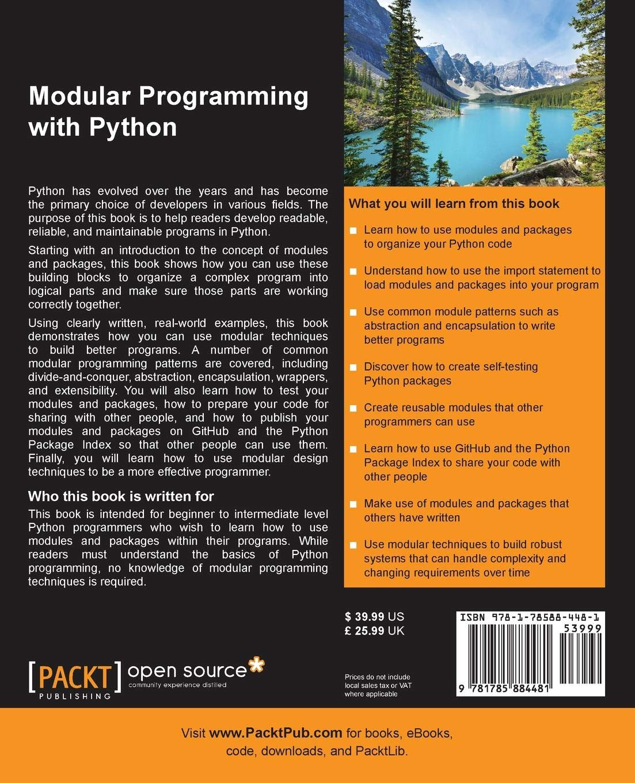 Modular Programming with Python: Amazon in: Erik Westra: Books