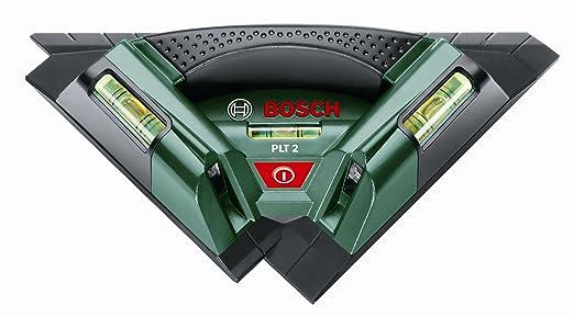 5 opinioni per Bosch 0603664000 Livella Laser per Piastrelle PLT 2, Nero/Verde