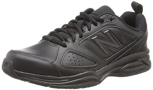 1554e644626c8 New Balance 624V4, Men's Multisport Indoor Shoes, Black (Black 001), 6.5