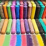 Sidewalk Chalk Set for Kids,112 Pack 16 Colors Jumbo Street Chalks Nontoxic