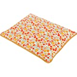 KANYOGA Mustard Rai Seed Baby Head Shaping Pillow for Sleeping with Removable Cotton Cover -(Red & Orange, L 21 x W 26 x H 3 cm)