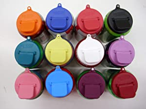 Beverage Budde Can Cover - Can Cover For Standard Size Soda/Beer/Energy Drink Cans - Made In The USA - BPA-PCB Free - Assort Colors - (Magnet - 12 Pack)