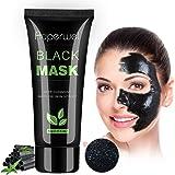 Auperwel Black Mask Blackhead Remover Charcoal Peel Off mask Deep Cleaning Peel Off mask 2.11 ounce
