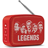 Saregama Carvaan SCM02/SCM03 Mini 2.0 Bluetooth Speaker (Sunset Red)