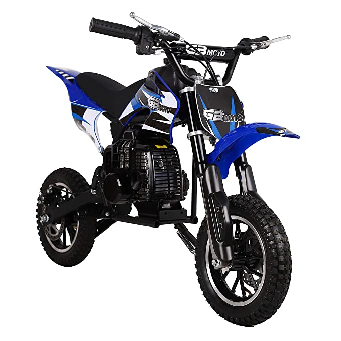 Amazon.com: V-Fire - Mini moto de cross de 2 tiempos de 49 ...