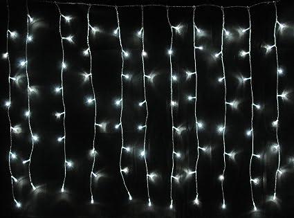 Rideau lumineux à 120 LED extérieur Câble de couleur de la lumière ...