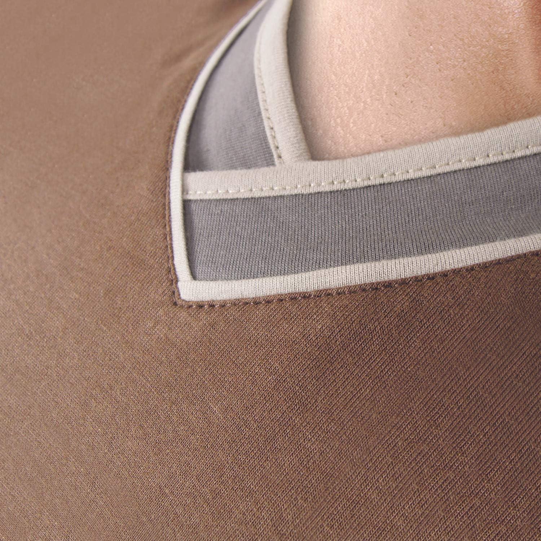 e.VIP Herren Schlafanzug Paul S 753 aus Baumwolle