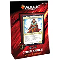 Magic: The Gathering Commander 2019 Mystic Intellect Deck | 100-Card Ready-to-Play Deck | 3 Foil Commanders | Factory…