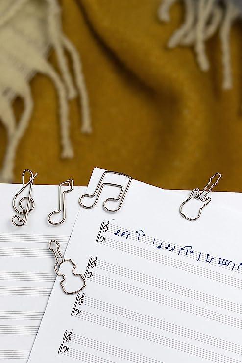 come decorazione o segnalibro Fermacarte o Bookmark Paperclip I Paper Clips per ufficio o casa C031 11 x graffette a forma di quadrifoglio Graffette