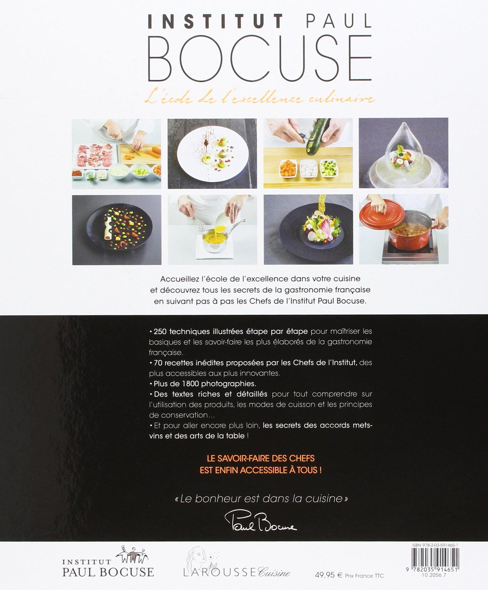 Larousse Institut Bocuse A Lecole De Lexcellence Culinaire - Cours de cuisine bocuse