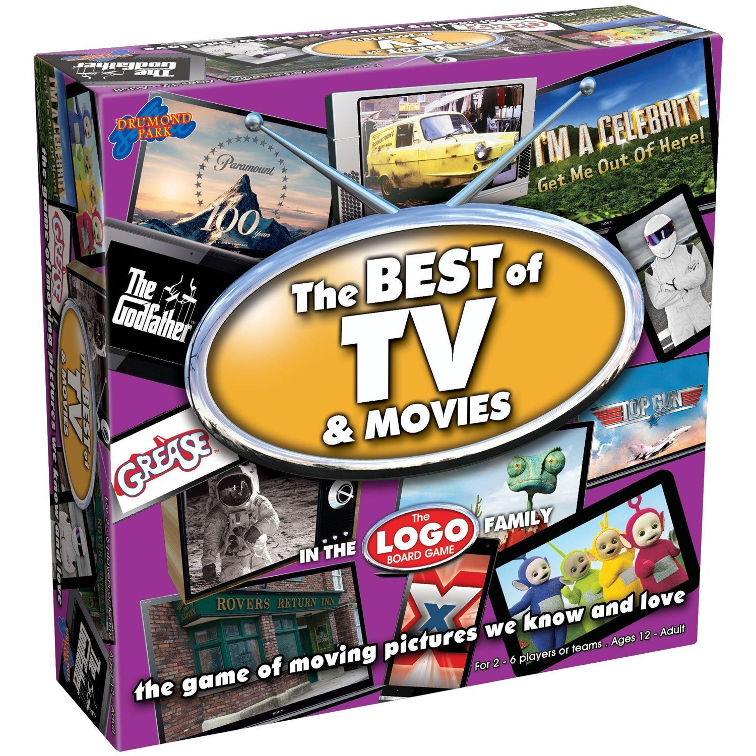 Best of TV and Movies Board Game: Drumond Park: Amazon.co.uk: Toys & Games