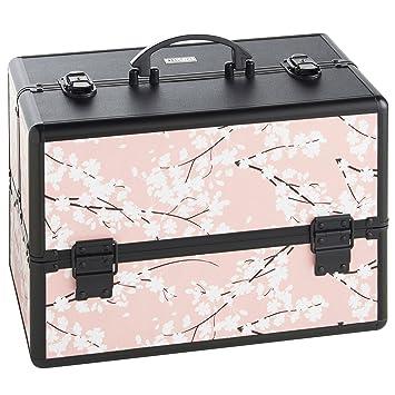 Amazon.com : Beautify Large Cosmetic Organizer Case - 14 ...