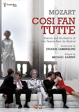 Mozart Cosi Fan Tutte Madrid 2013 Michael Haneke 2 Dvds Amazon De