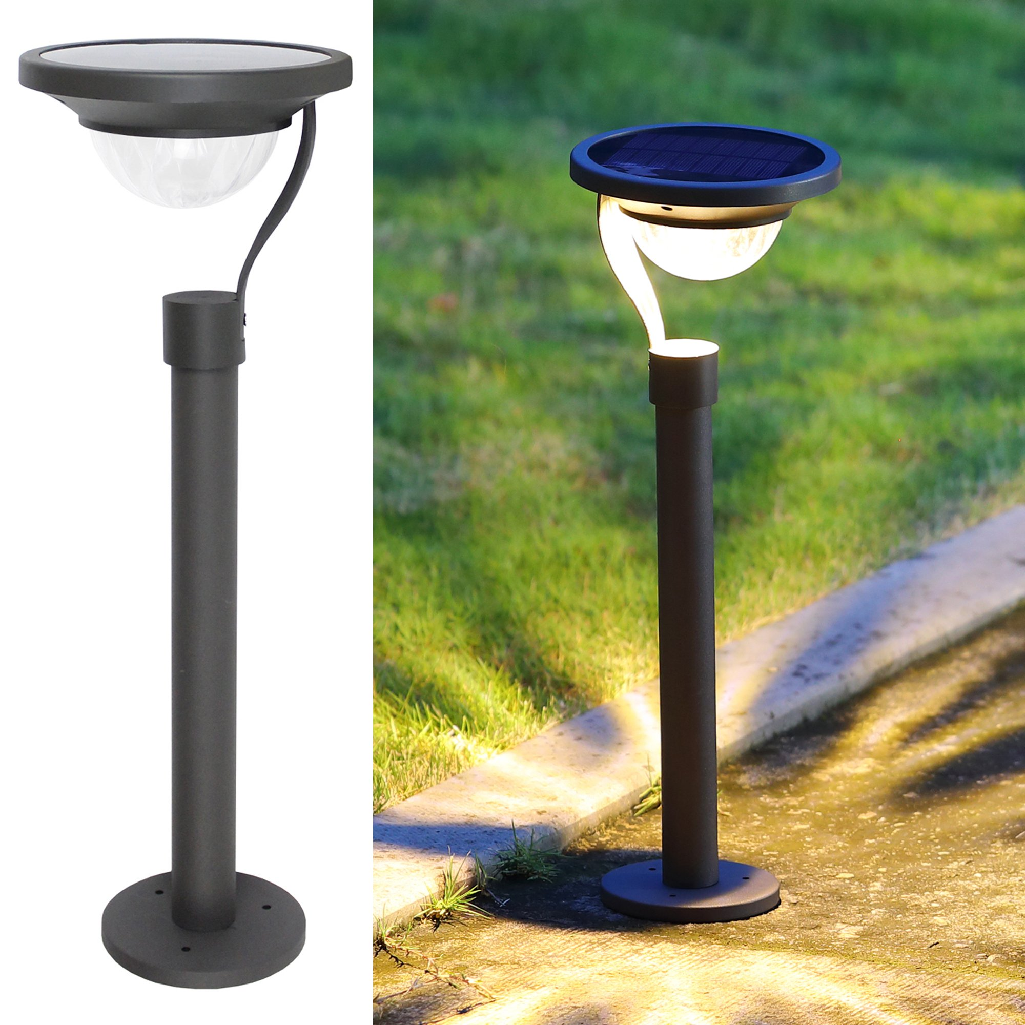 twinkle star 50 lumens solar path lights garden landscape outdoor for lawn patio yard driveway can
