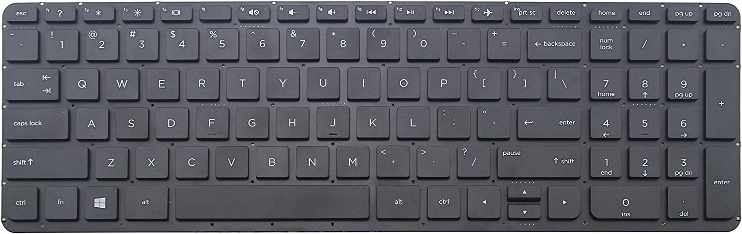 New Backlit US Keyboard For HP Pavilion 17-f025cy 17-f023cy 17-f024ds 17-f024nr