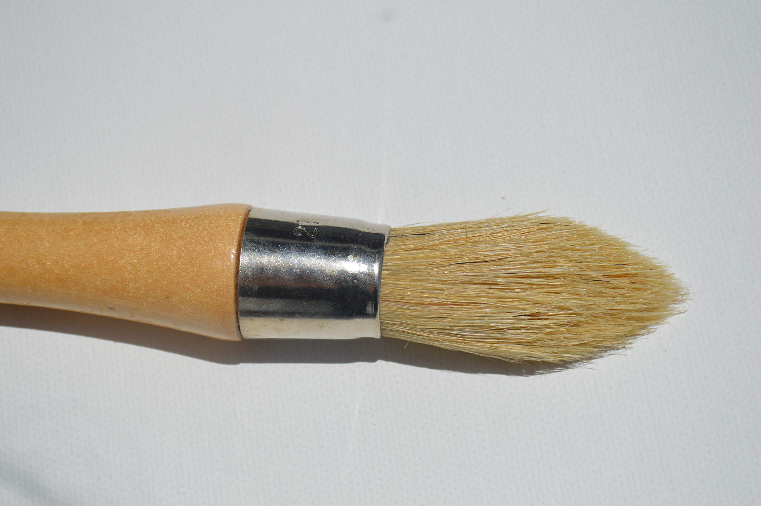 Chalkology Artisan Series - Round Pointed Chalk Wax & Paint Brush by Chalkology