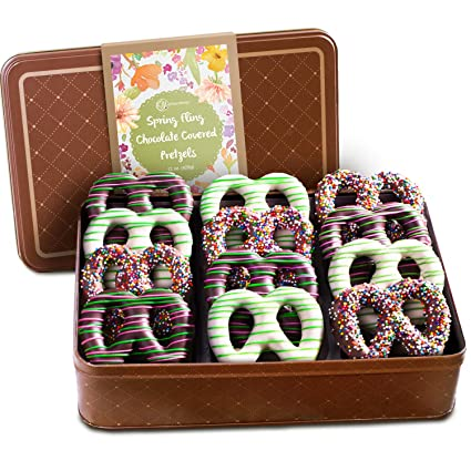 dorado State fruta Primavera Chocolate Covered Pretzels ...