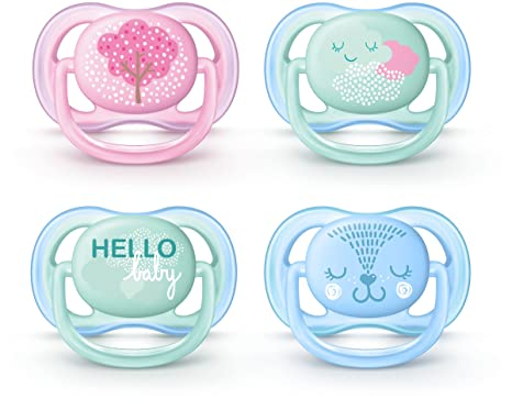 Philips AVENT SCF342/21 - Chupete (Ultra soft pacifier ...