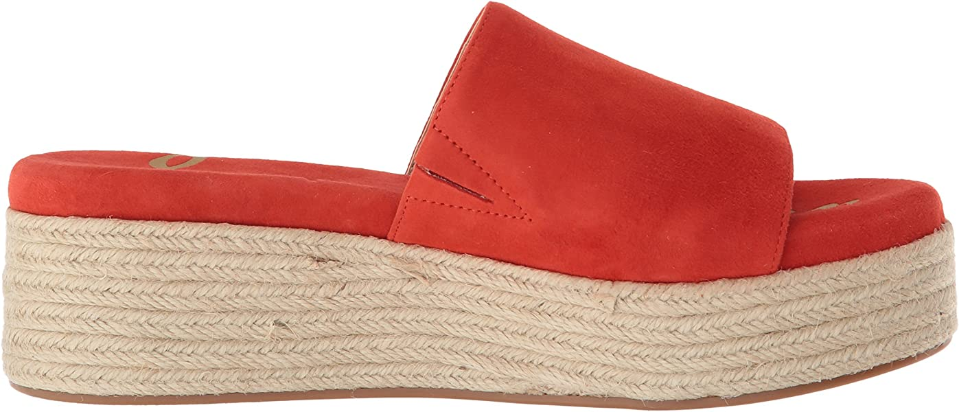 eb41c75dc Sam Edelman Women s Weslee Slide Sandal Candy red 5 M US ...