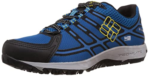 Columbia Conspiracy III Outdry«, Men's Low Rise Hiking Shoes, Blue (Dark  Compass