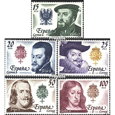 Spain 2444-2448 (Complete.Issue.) 1979 Spanish Kings (Stamps for Collectors): Toys & Games