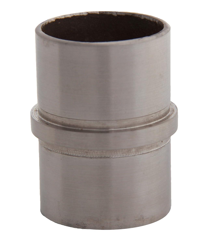 Edelstahldiscounter S013590 Manguito para tubos de 42,4 x 2,0 m, con pieza central