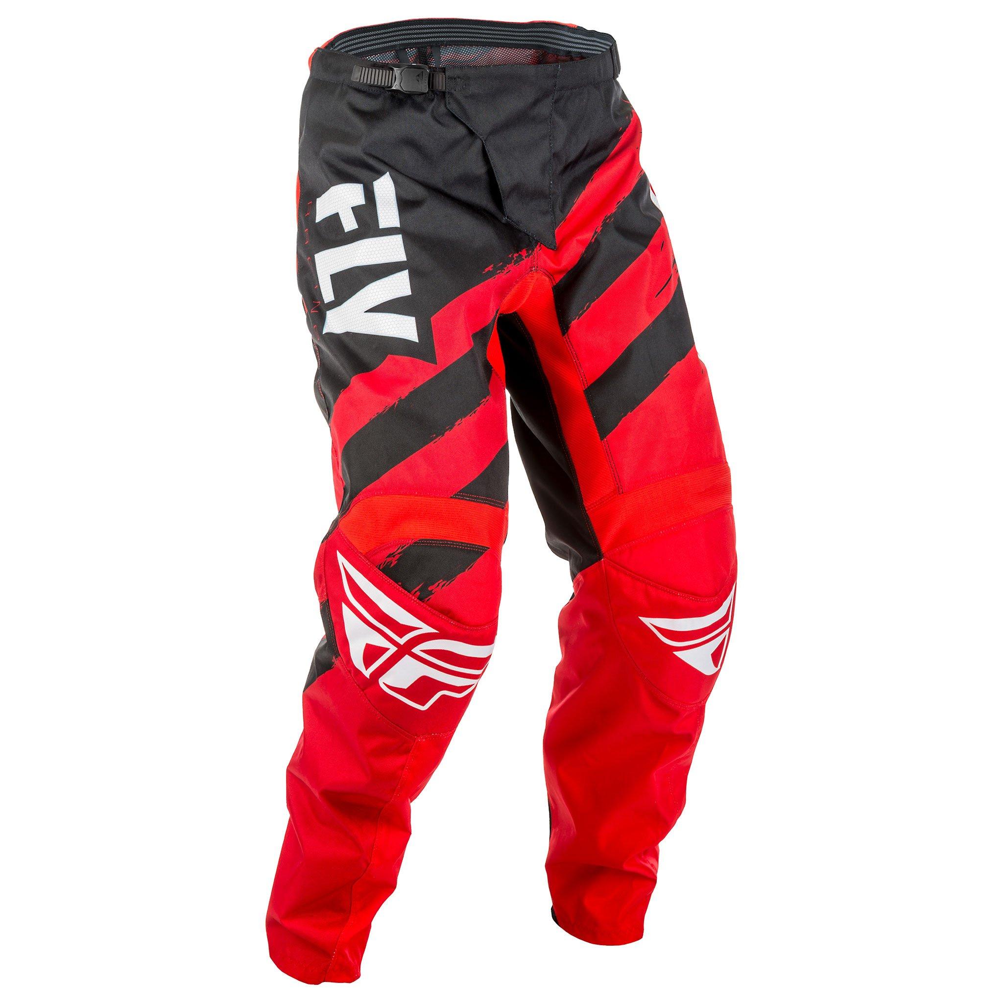 Fly Racing Men's Pants(Red/Black, Size 26),1 Pack