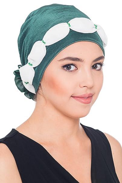 Deresina Headwear Elegante Kopfbedeckung für Haarverlust (Beige ...