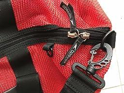 Amazon.com: Speedo Ventilator Duffle Bag, Black/Black, 40