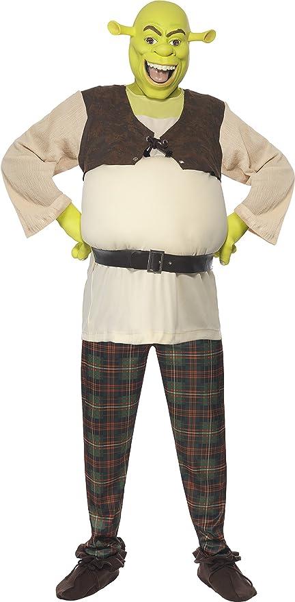 Par Hombre y Mujer Dreamworks Shrek y Fiona Halloween película Comic de figuras Disfraz verkleidung Outfit