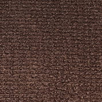 Indoor/Outdoor Carpet With Rubber Marine Backing   Dark Brown 6u0027 X 15u0027