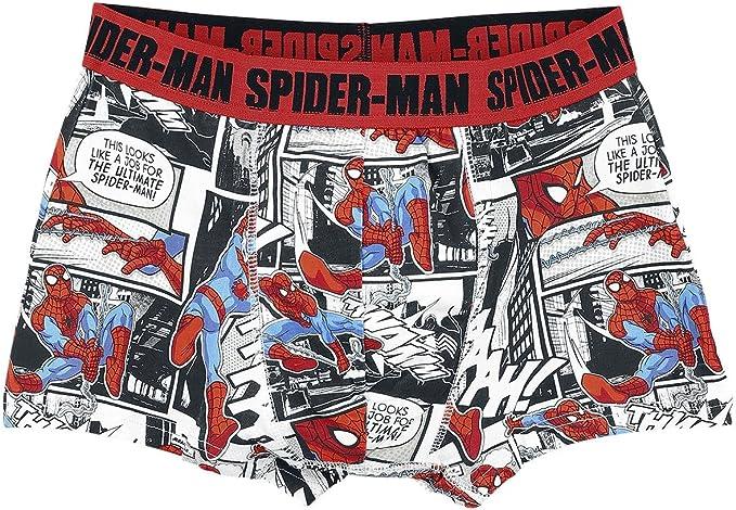 Spider-Man Comic Style Calzoncillos boxer estampado L