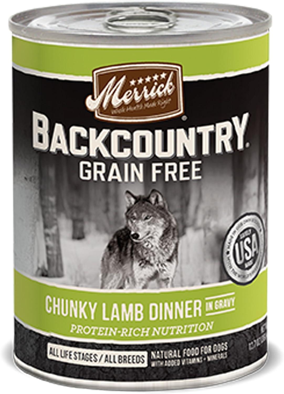 Merrick PET Food Backcountry Chunky Lamb