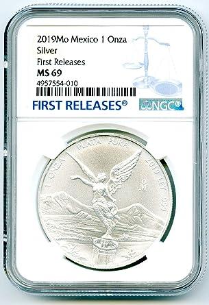 2019 1 oz Mexican Silver Libertad Coin .999 Fine BU