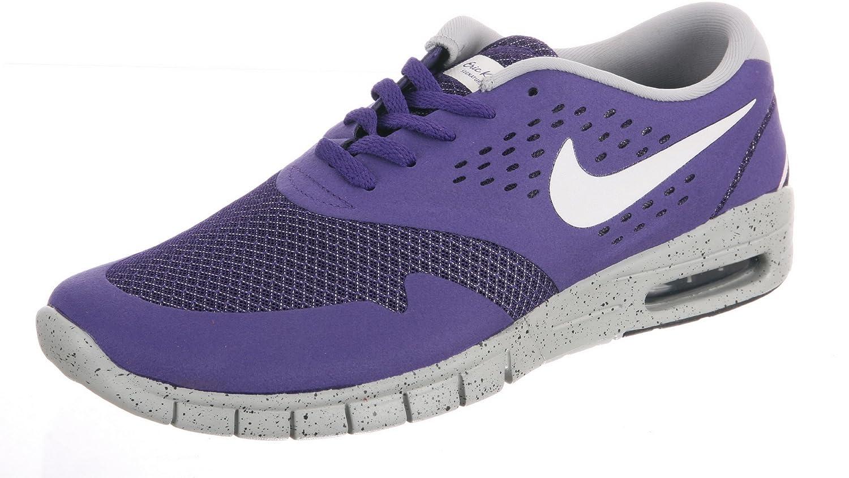 Nike Herren Eric Koston 2 Max Skaterschuhe, Rot, Talla  41 EU|Court Purple / Base Grey / Anthracite / Sail