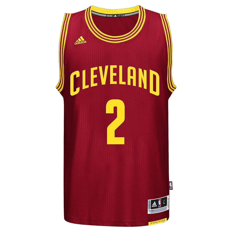 Adidas Kyrie Irving Cleveland Cavaliers NBA Swingman Jersey Camiseta - Red, Small: Amazon.es: Ropa y accesorios