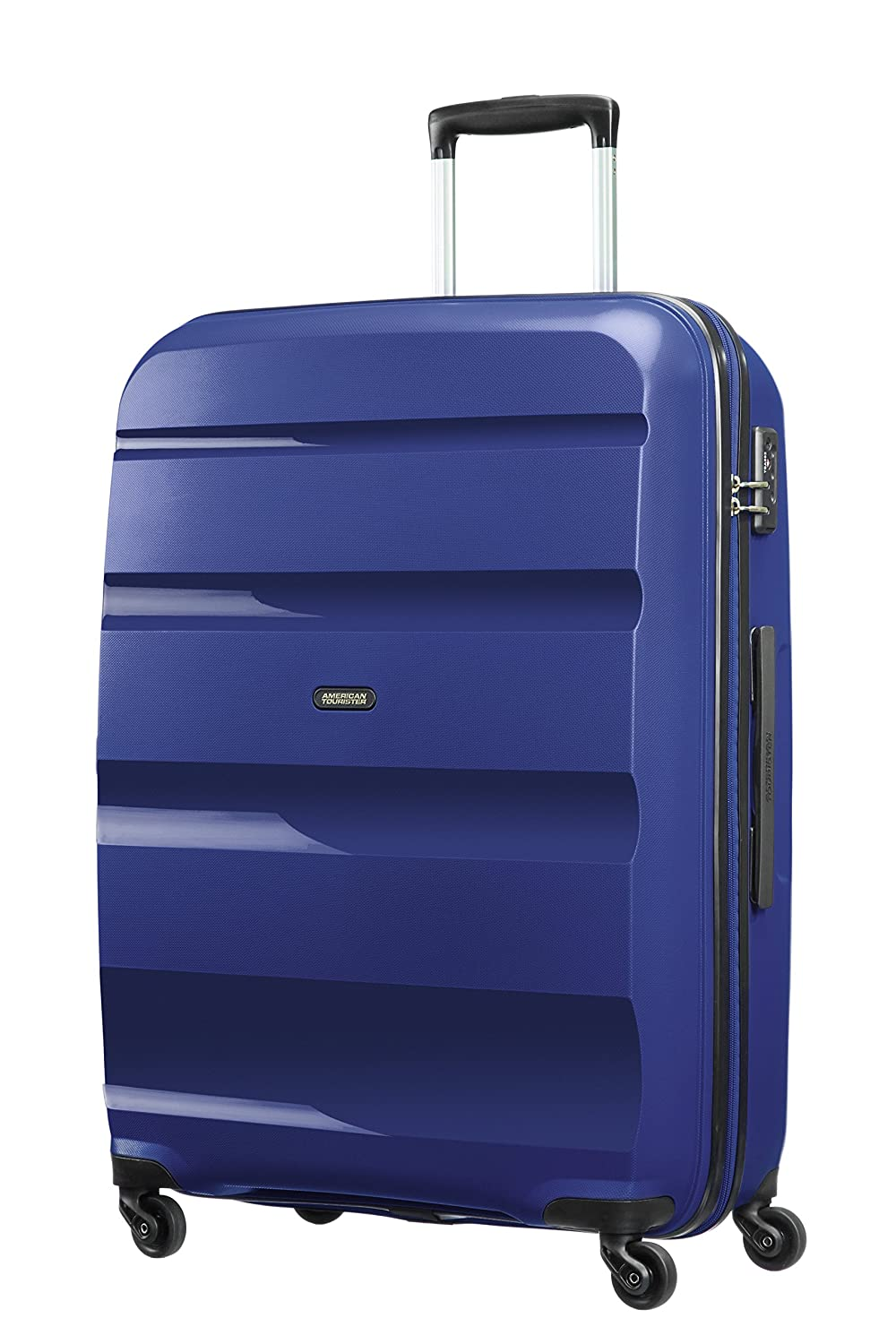 American Tourister - Bon Air - Spinner Maleta 75 cm, 91 L, Azul (Midnight Navy)