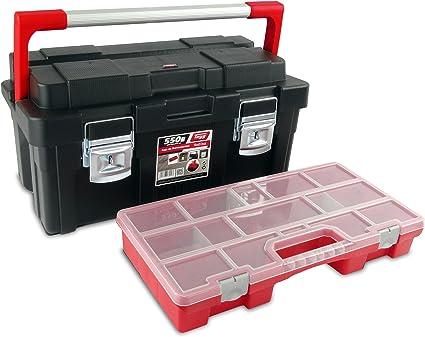 Tayg 3 Caja de herramientas 550-E, 550 x 300 x 275 mm: Amazon.es: Bricolaje y herramientas