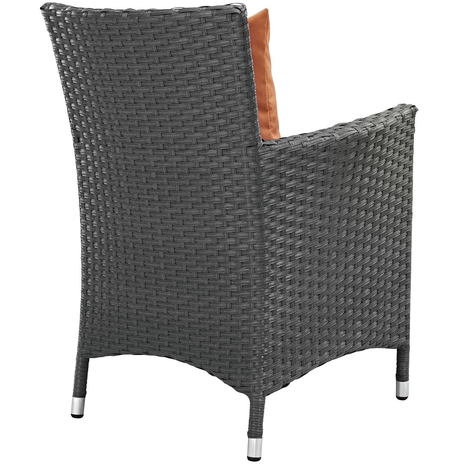 Modway LexMod Sojourn Dining Outdoor Patio Armchair, Canvas Tuscan by Modway (Image #3)