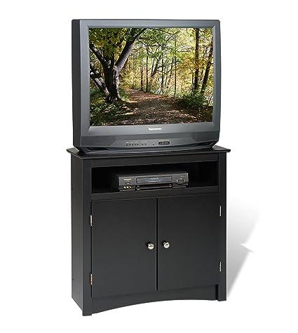 Beau Prepac Sonoma Corner TV Cabinet, Black