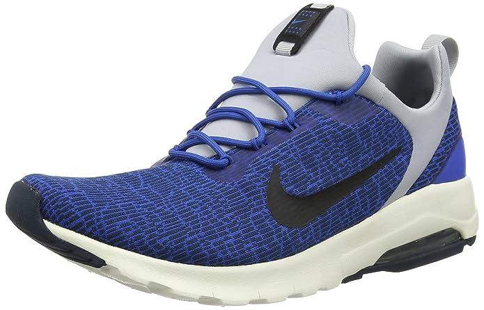 Nike Air Max Motion Racer, Baskets Homme, Bleu (Blue Jay/Black-Armory Navy-Wolf Grey-Sail), 46 EU