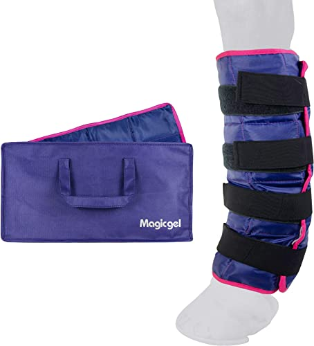 Ice Boots for Horses [Cooling Leg Wraps] [Magic Gel] Picture