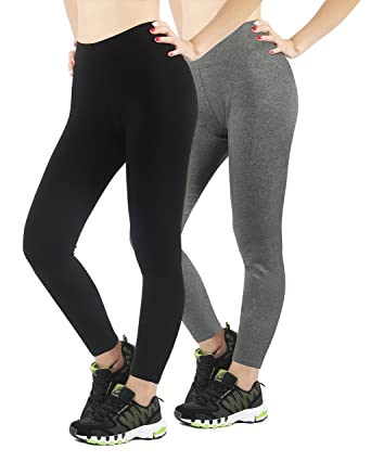 0f038aa7df 4HOW Women's Tights Capris Workout Ankle Length Legging at Amazon ...