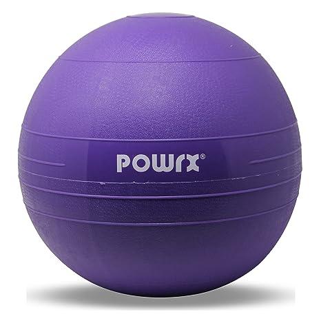 01acf17ece630 POWRX - Balón medicinal - Slam Ball Balón Medicinal 3 - 20 kg I Slam Ball  Varios colores - TALLA  20 kg   COLOR  Morado  Amazon.es  Deportes y aire  libre