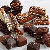 Shari's Berries - Handmade Caramel & Pretzel Sampler - 26 Count - Gourmet Baked Good Gifts