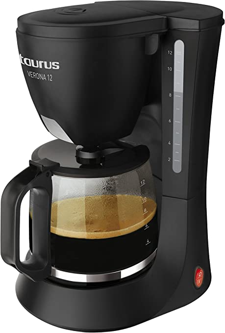 Taurus Verona 12 - Cafetera de goteo, 680 W, capacidad 12 tazas: Amazon.es: Hogar
