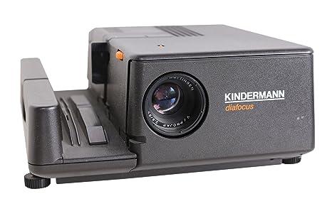 KINDERMANN Diafocus 8005 – Proyector de Diapositivas en Negro ...